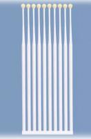 Палочки с липким кончиком PremiumPlus белые 909 (10 шт)