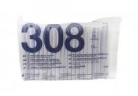 Наконечники для пылесоса PremiumPlus вентилируемые 308 A (100 шт)