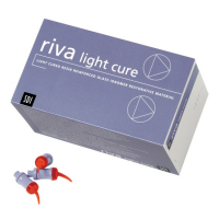 Светоотверждаемый стеклоиономерный цемент SDI Riva Light Cure 50 CAP (50 капcул, 0.42 г)