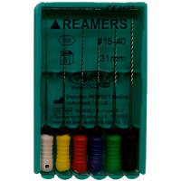 Ручные файлы Vortex Reamers (31 мм, 6 шт)