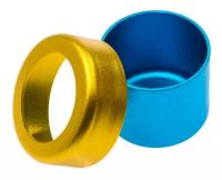 Клин-стенд алюминиевый RUIER желто-синий B043 B