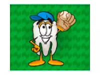Коврик для мышки - бейсболист 8081755
