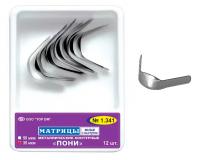 Матрицы металлические контурные TOP BM 1.341 Пони (12 шт, 50 мкм)