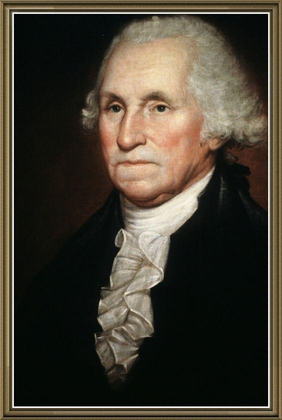 Джордж Вашингтон первый президент  Америки.