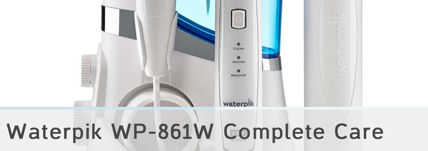 Waterpik WP-861W Complete Care